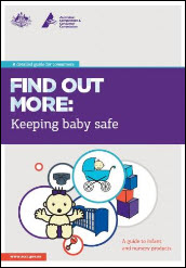 Keeping baby safe - a guide to infant and nursery products