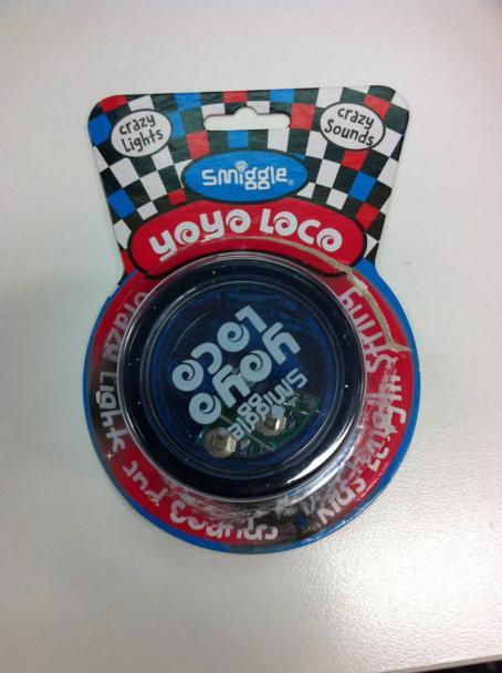 Smiggle yo-yo