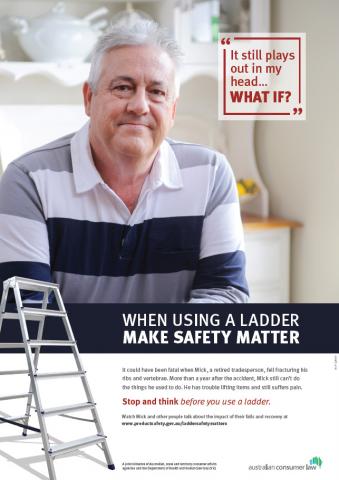 Ladder safety matters