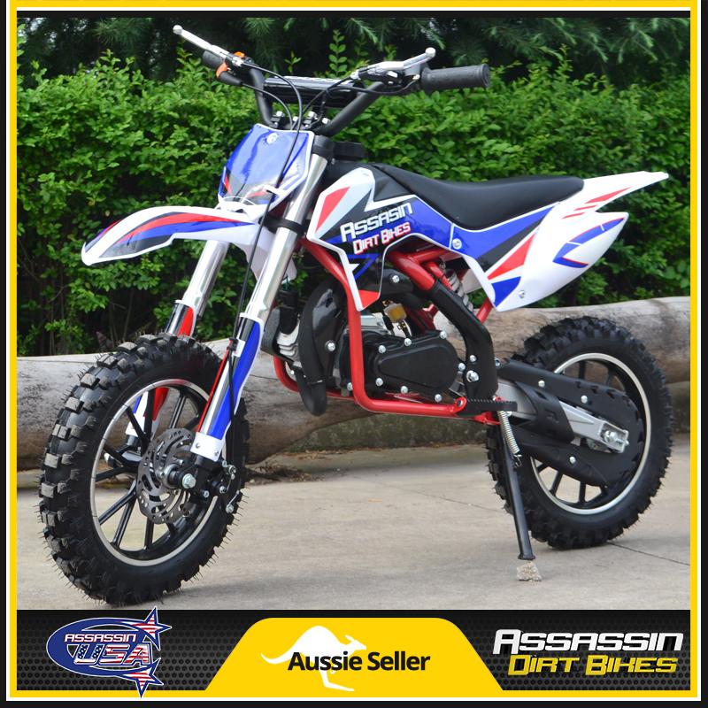 Assassin Dirt Bikes — Assassin 49CC 2 Stroke Auto Kids