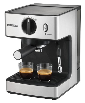 sunbeam sunbeam caf espresso ii em 3820 coffee machine. Black Bedroom Furniture Sets. Home Design Ideas