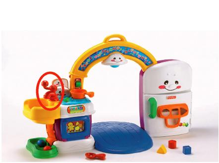 Mattel Pty Ltd Fisher Price Laugh And Learn 2 In 1 Learning Kitchen Toys Product Safety Australia