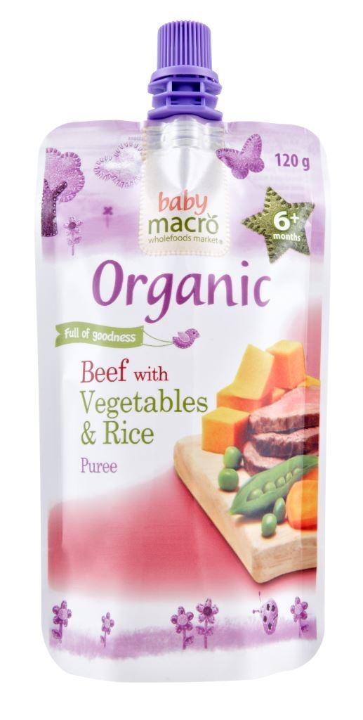 Woolworths Organic Baby Food