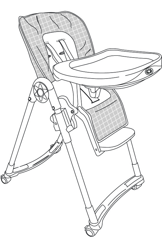 Igc Dorel Pty Ltd Mother S Choice High Chair Product
