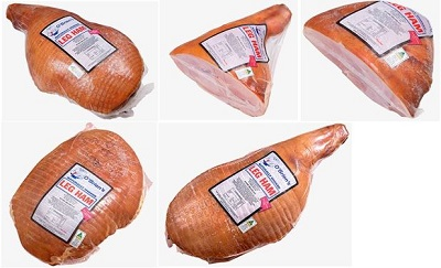 O'Brien's Wholesale Meats Pty Ltd — O'Brien's Leg Hams (Various Weights)