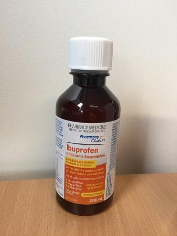 Symbion Pty Ltd Pharmacy Choice Ibuprofen Children S