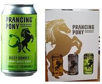 Prancing Pony Pty Ltd — Dizzy Donkey Cloudy Apple Cider 375mL