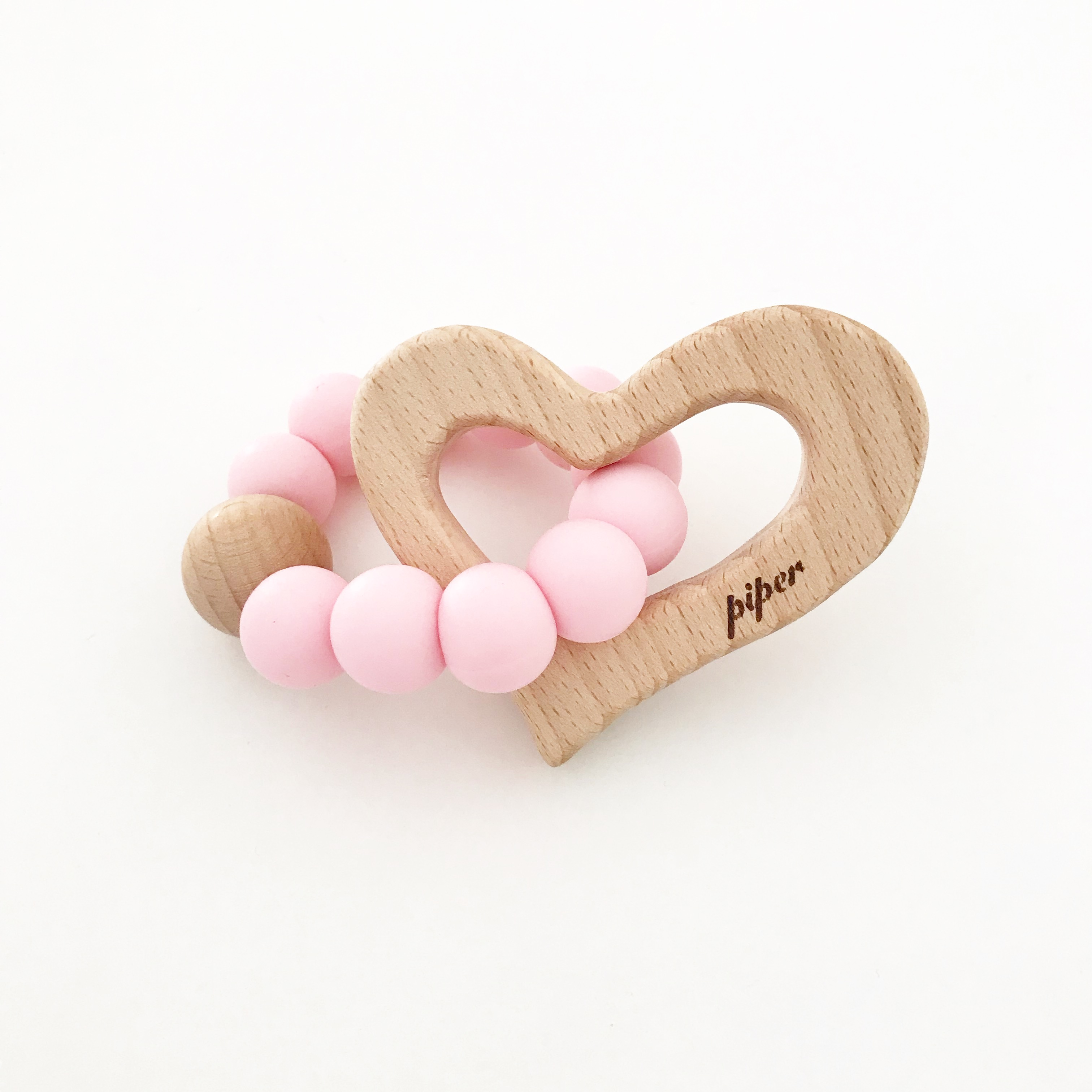 Our Little Helpers Wooden Fox Wooden Heart Wooden Cloud And