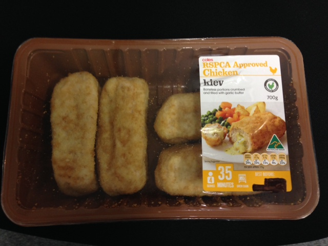 how to cook chicken kiev from coles